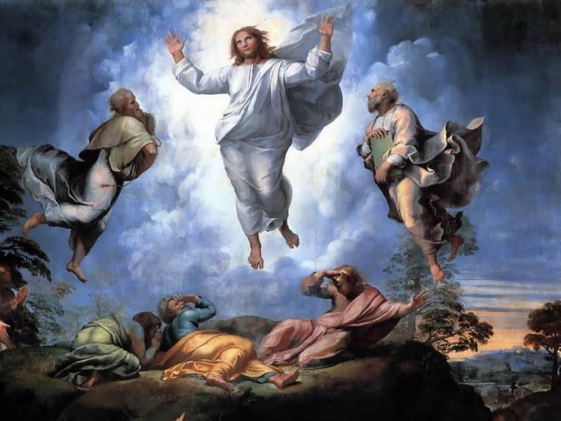 Transfigurasi, oasis di padang gurun kehidupan menuju ke.