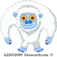 Yeti Clip Art Illustrations. 677 yeti clipart EPS vector drawings.