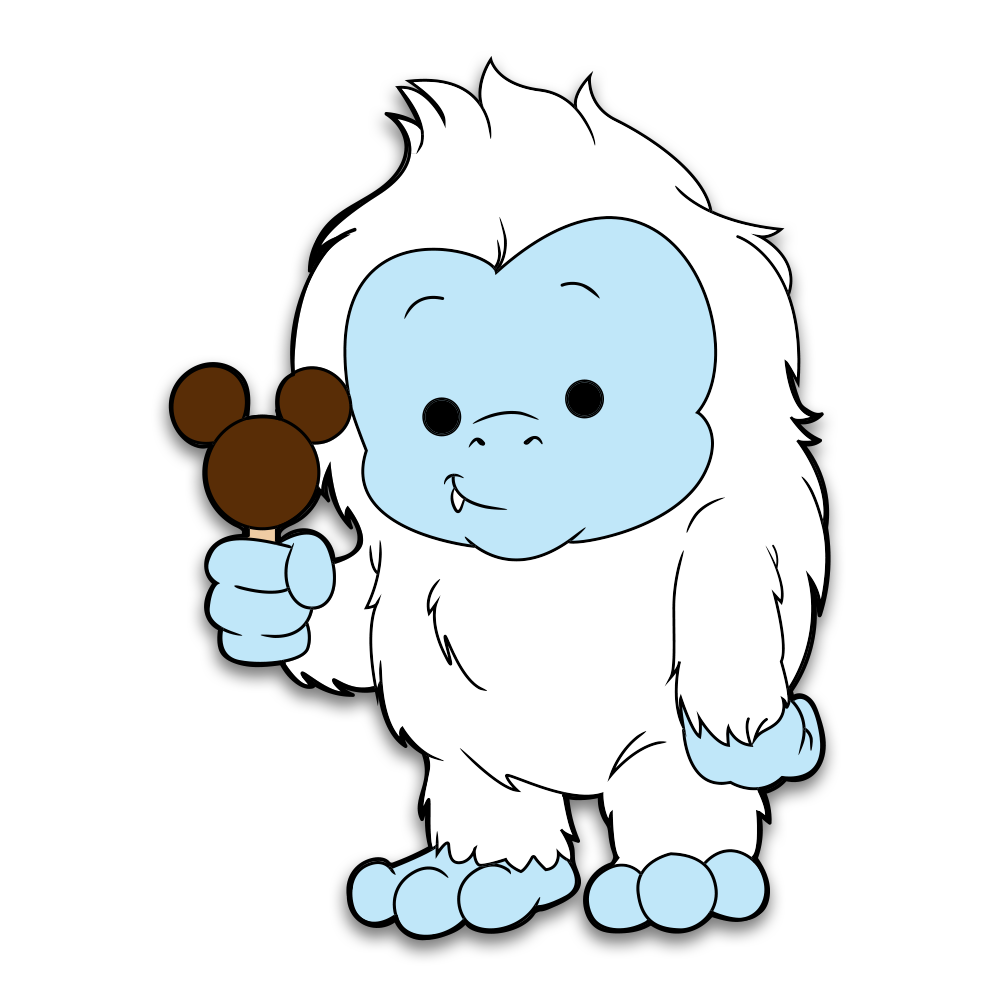 Yeti Clipart Images.