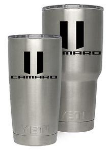 Details about Yeti Rambler 20 or 30 oz Chevy/Chevrolet Camaro logo.