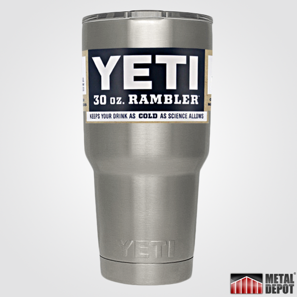PREVIEWING MobileTheme: Personalized Powder Coated YETI 30 oz.