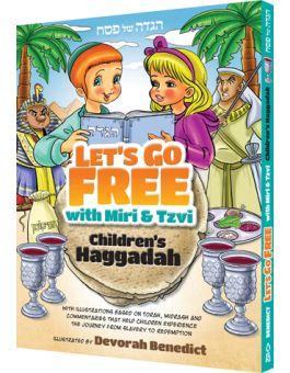 Let\'s Go Free with Miri & Tzvi, Children\'s Haggadah.