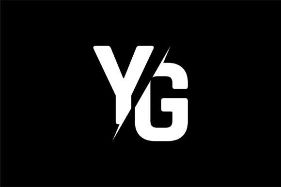 Monogram YG Logo Design.