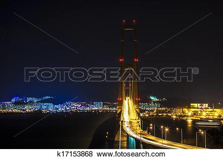 Pictures of Beautiful bridge in South Korea,Yi Sun.