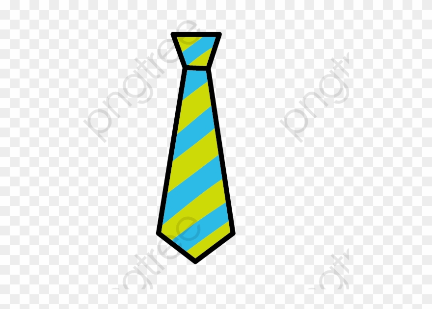 Cartoon Tie Png Clipart (#4855642).
