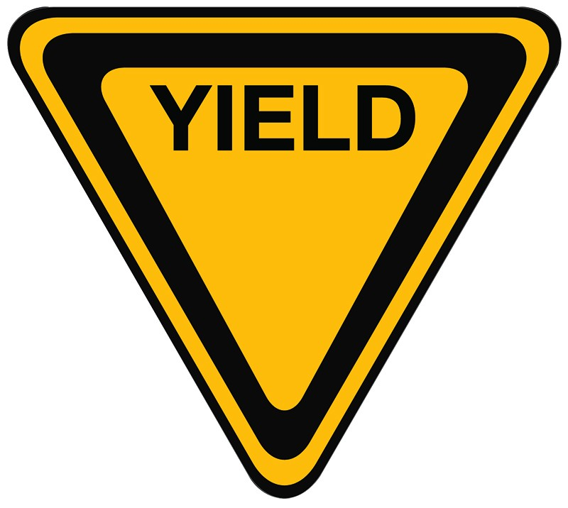 Yield Sign Clip Art.