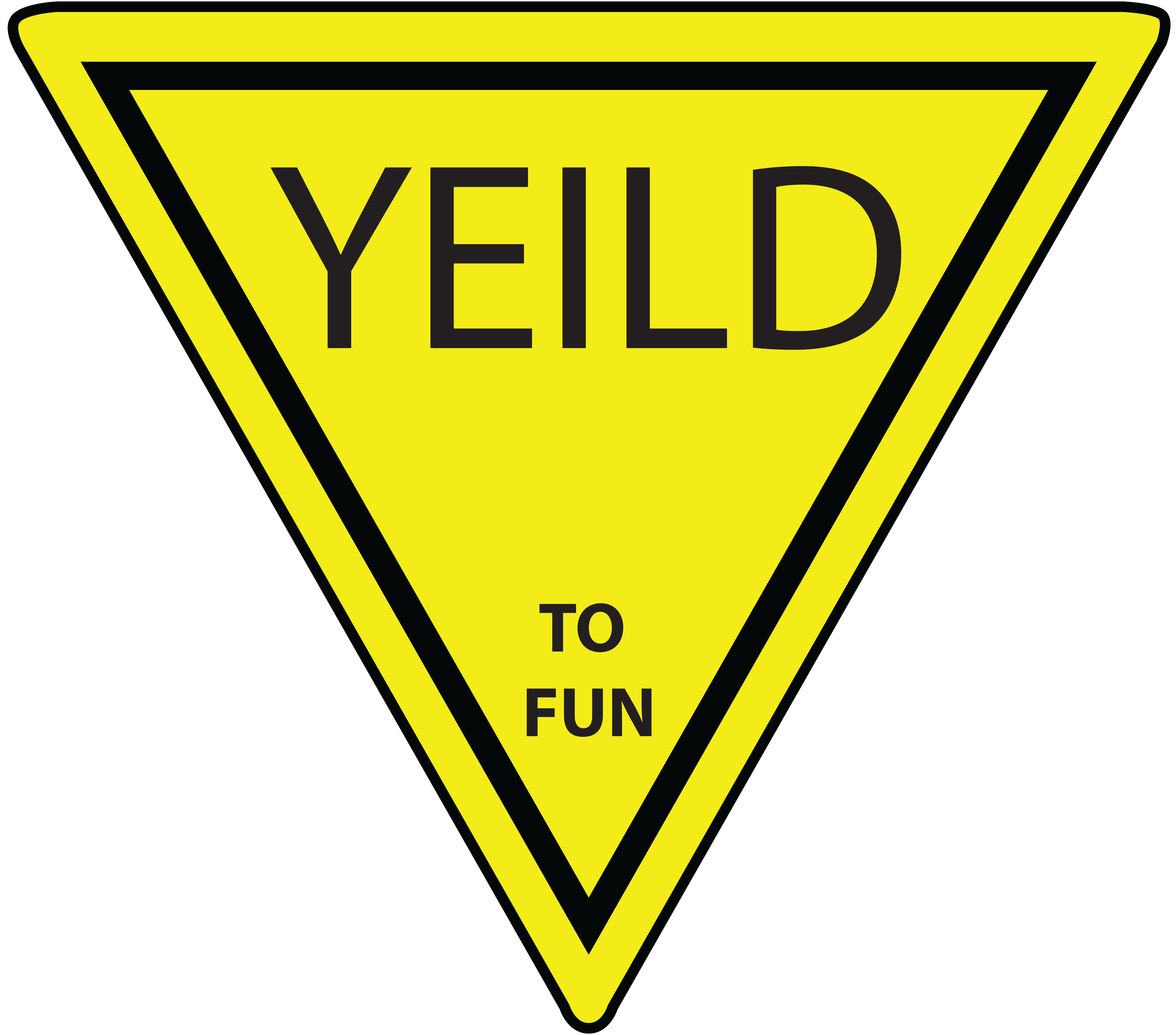 Yield Sign Clip Art & Yield Sign Clip Art Clip Art Images.