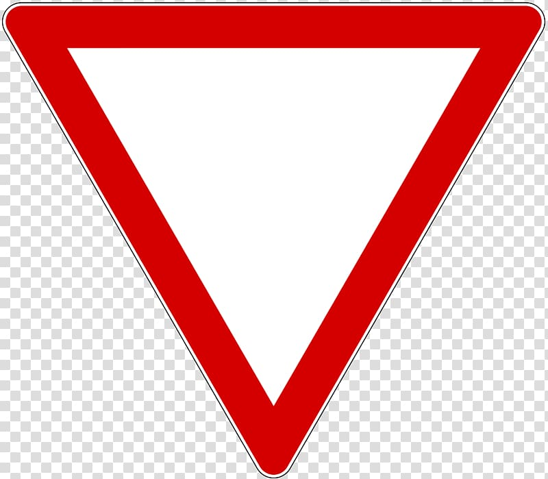 Priority signs Yield sign Traffic sign Stop sign Road, fig.