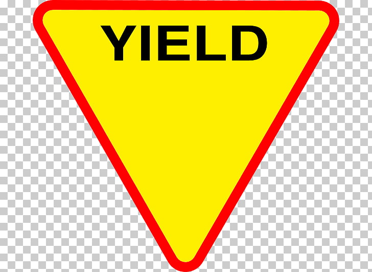 Yield sign Traffic sign , spirit PNG clipart.