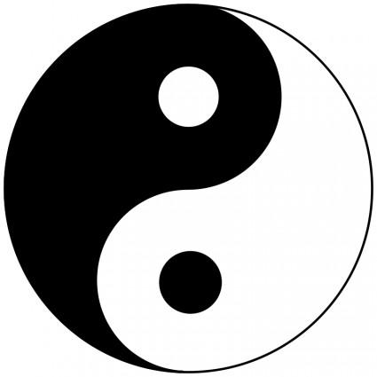 Clipart Yin Yang Gratuit.