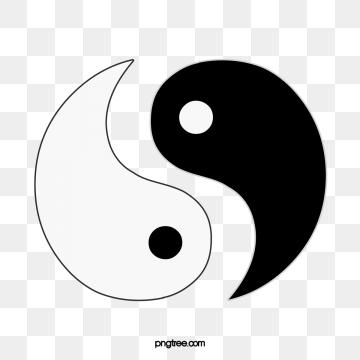 Yin Yang PNG Images.