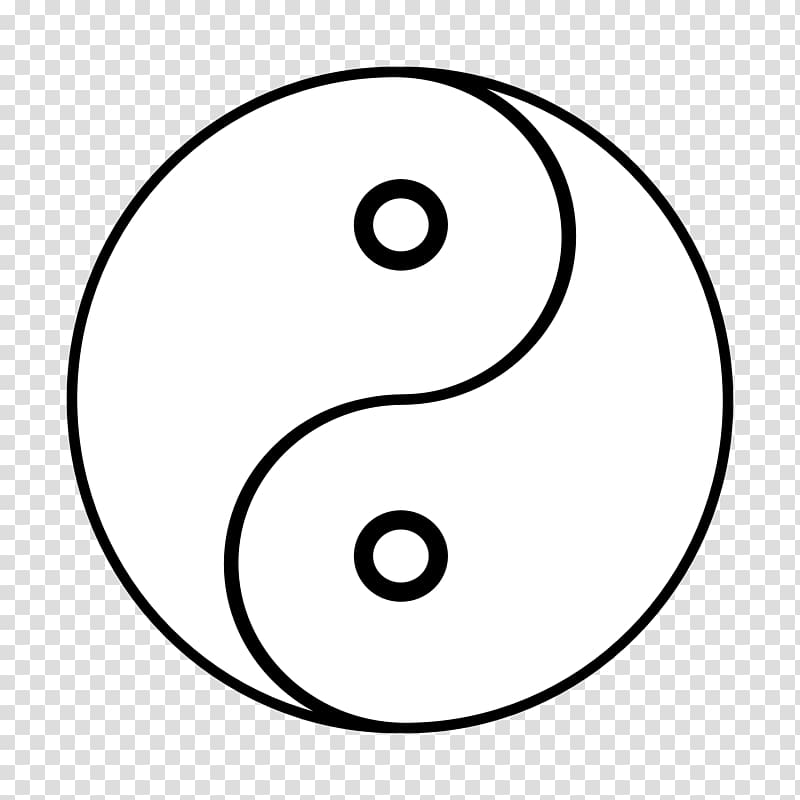 Yin and yang Black and white Google yin yang transparent.