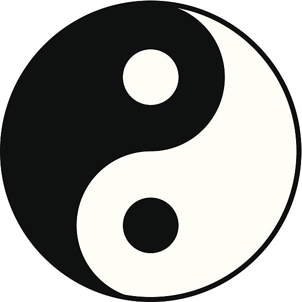 Best Yin Yang Illustrations, Royalty.