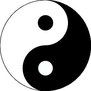 Yin Yang 3 Clip Art at Clker.com.