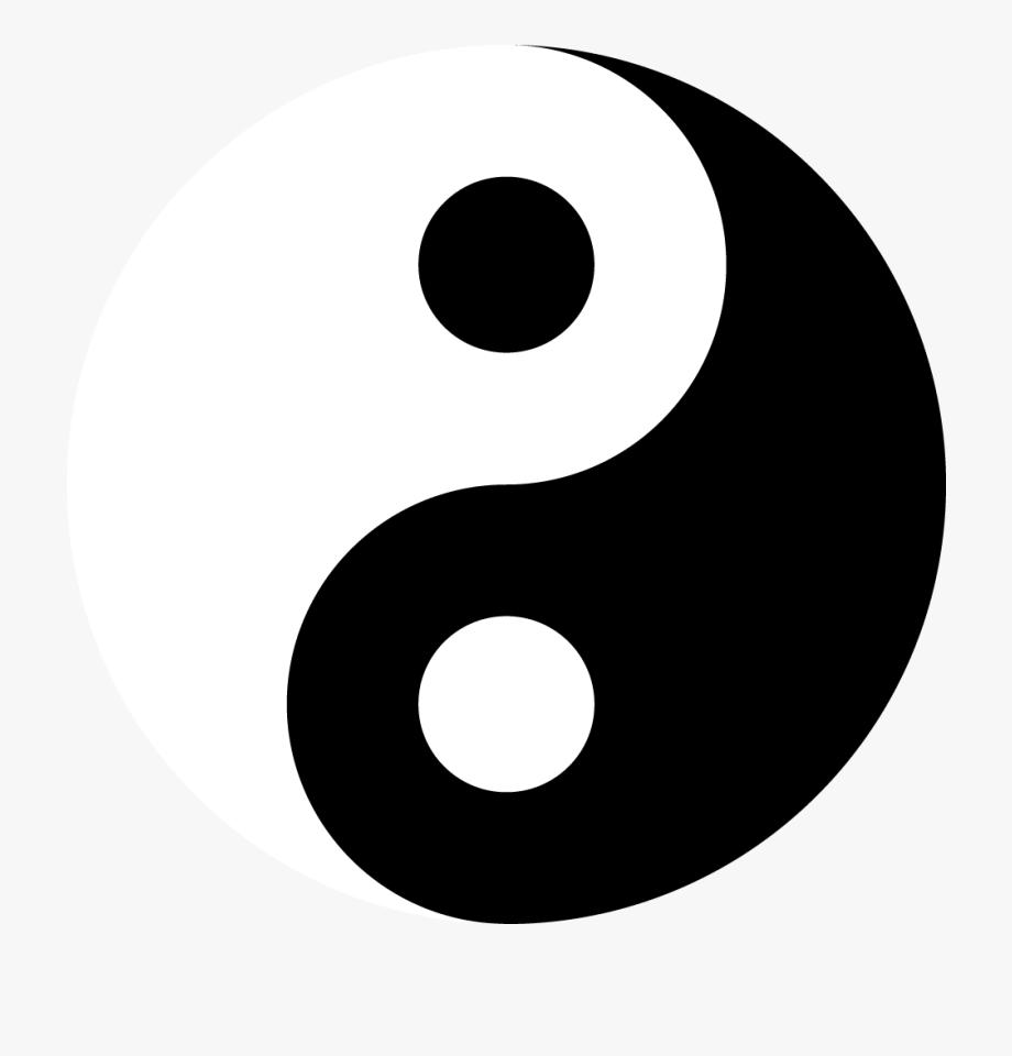 Symbols Vector Yin Yang.