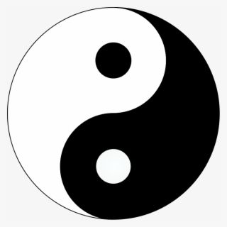 Free Yin Yang Clip Art with No Background.
