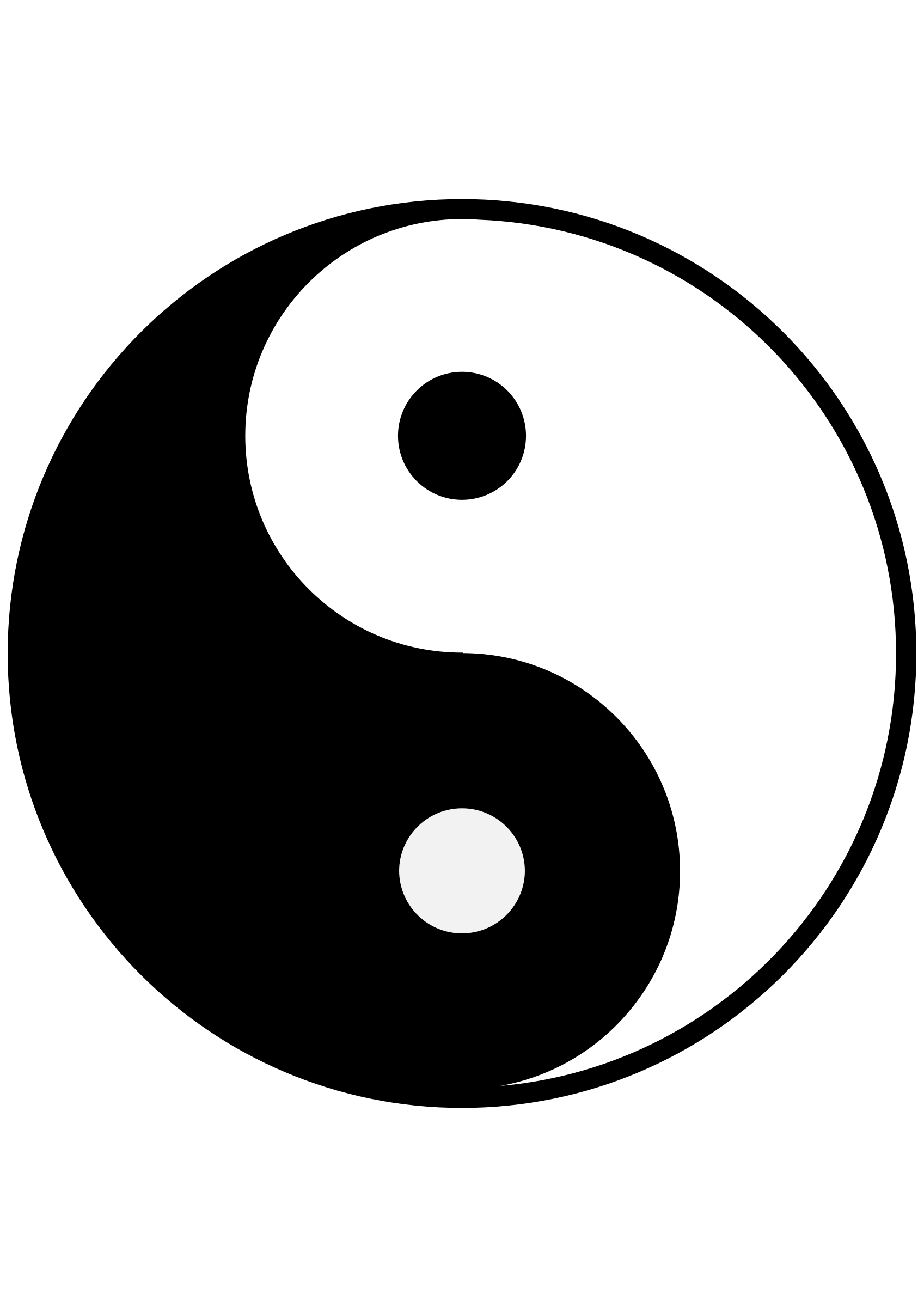 Symbol Yin and yang.