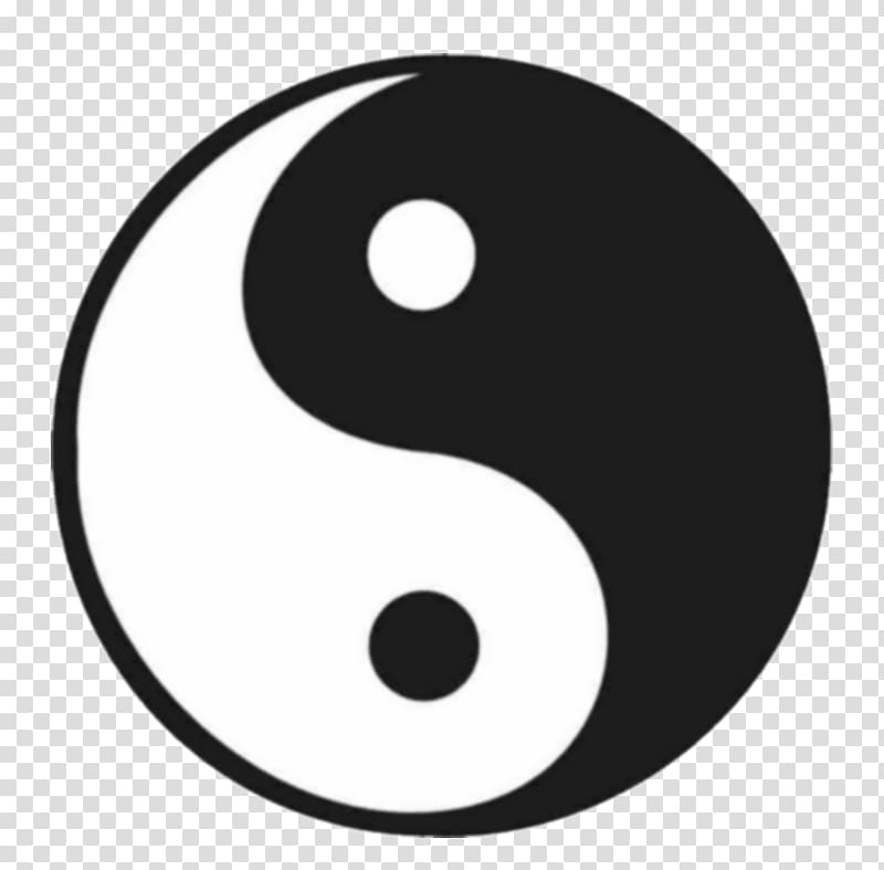 Yin and yang Symbol , yin yang transparent background PNG.