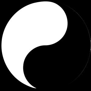 Yin and yang.