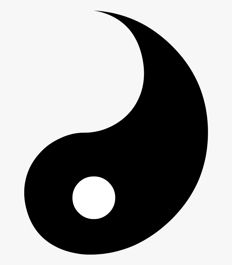 Transparent Yin Yang Clipart.
