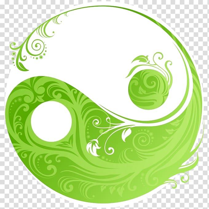 Yin and yang Symbol, symbol transparent background PNG.