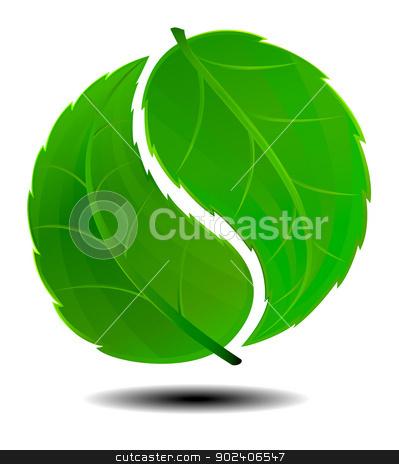 Green Symbol stock vector.