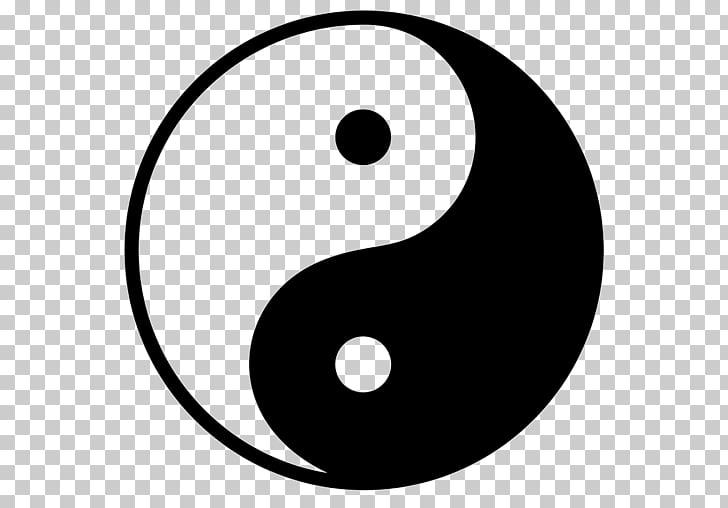 Symbol Yin and yang Korea , yin yang PNG clipart.