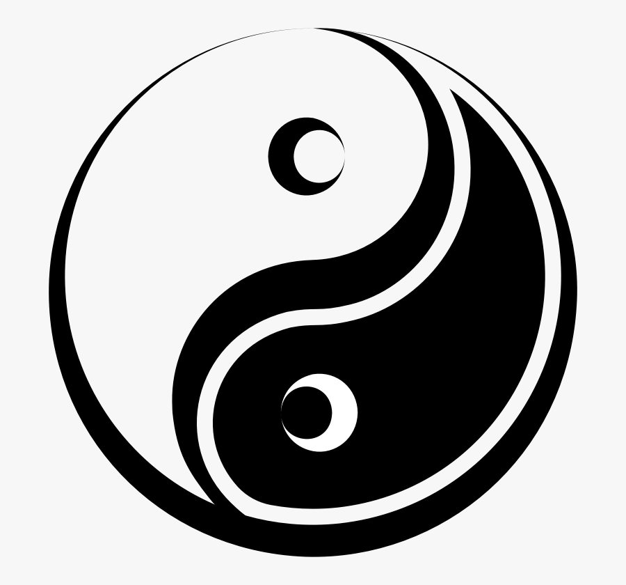 Stylized Yin Yang Symbol.