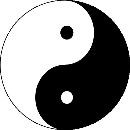 Yin Yang Clipart.