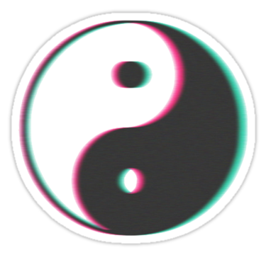 png yin yang transparente tumblr on We Heart It.