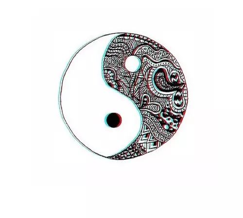 Yin yang tumblr png 7 » PNG Image.
