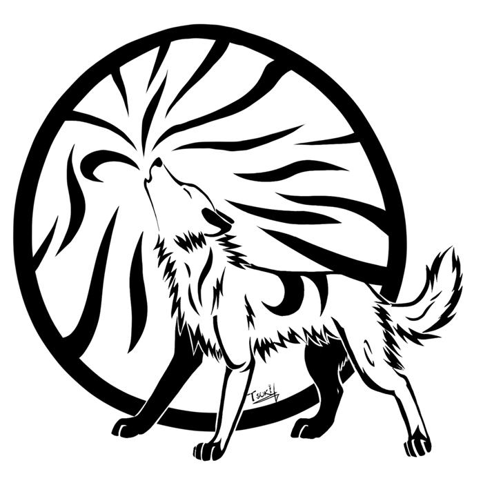 Free Wolf Vector Art, Download Free Clip Art, Free Clip Art.