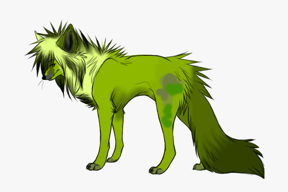 Green Wolf Adopt By All.