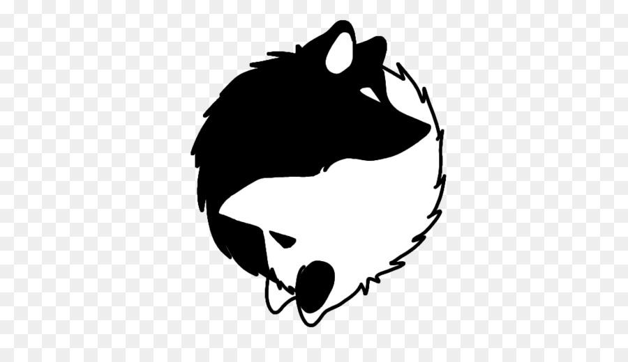 Yin Yang Png Wolf & Free Yin Yang Wolf.png Transparent.