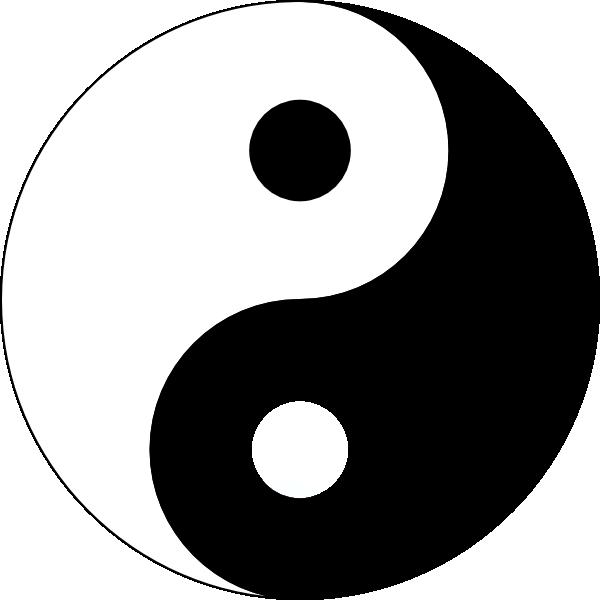 Yin Yang Logo Clip Art at Clker.com.