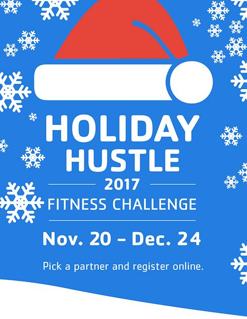 Stay on track this holiday season with the YMCA\'s Holiday.