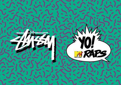 Stüssy x Yo! MTV Raps.