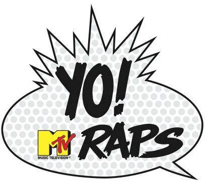 YO! MTV Raps logo in 2019.