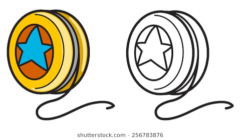 Yoyo clipart black and white 1 » Clipart Station.