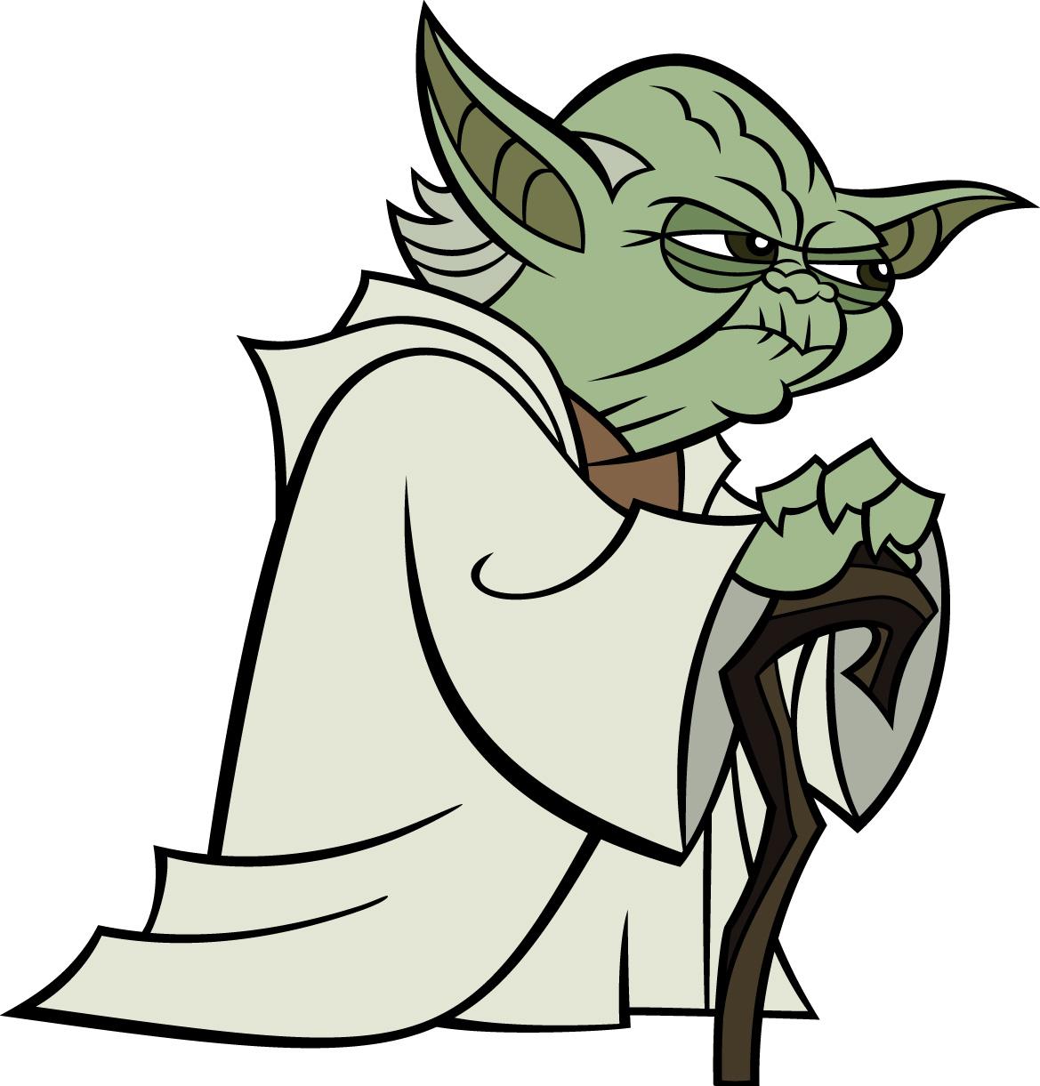 Imagen Yoda Cartoonjpg Star Wars Wiki clipart free image.