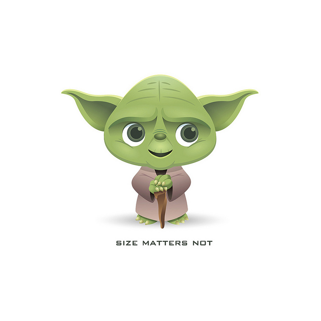 Yoda clipart.
