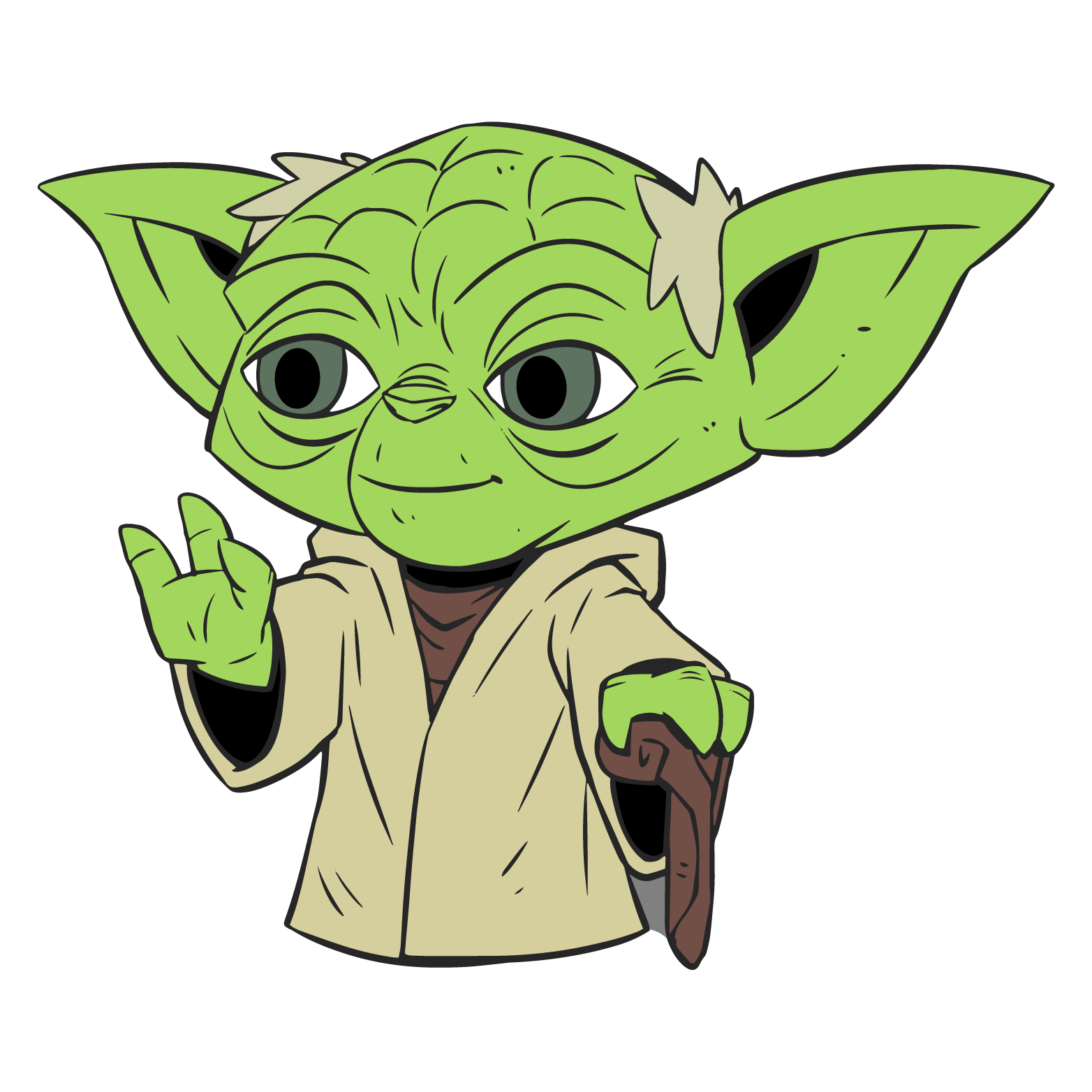 Clipart baby yoda, Clipart baby yoda Transparent FREE for.