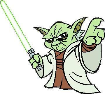 Star Wars Yoda Coloring Pages Printable Clipart.