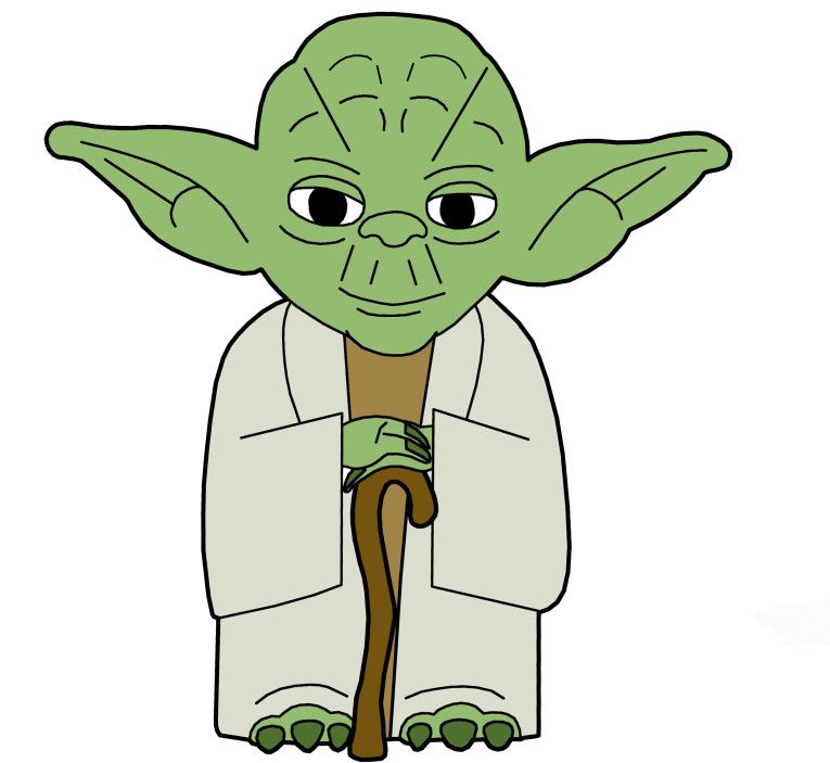 Clip Art Yoda.