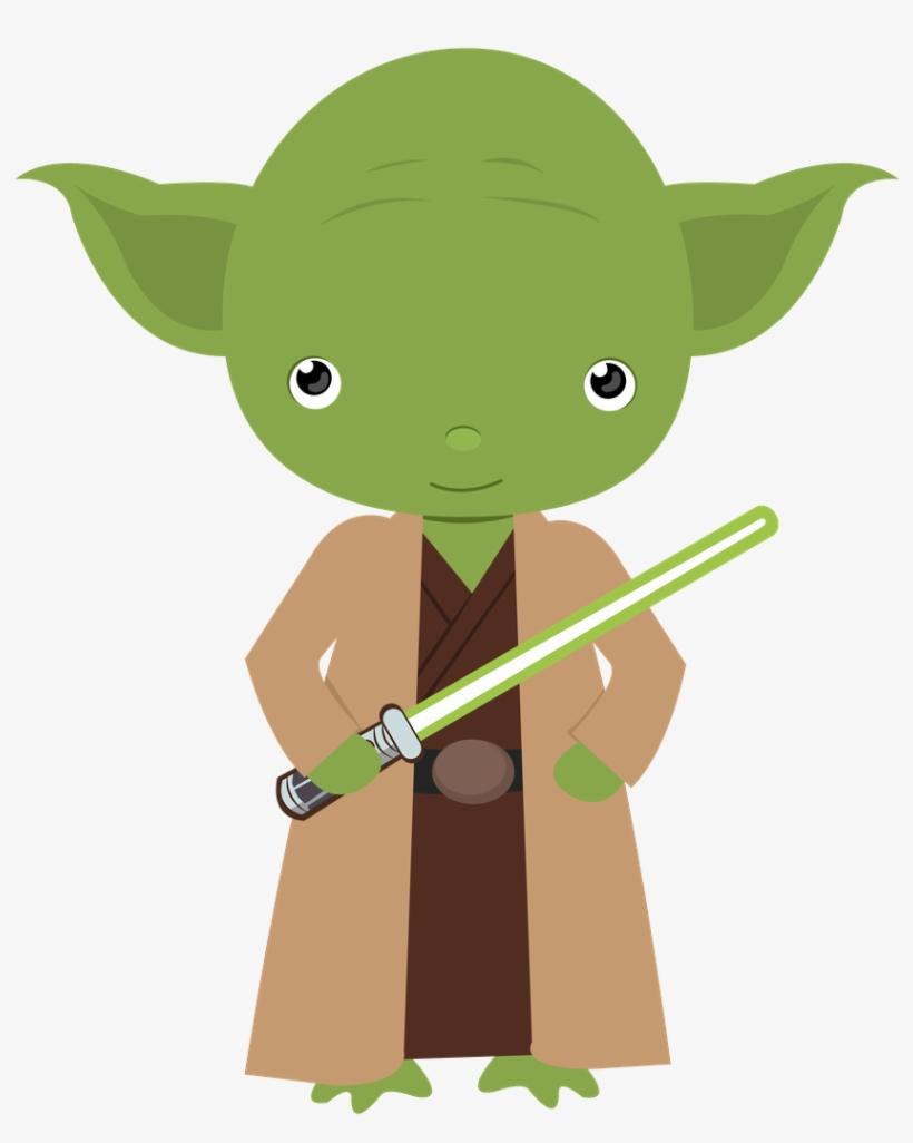 Clip Art Transparent Baby Yoda Clipart.