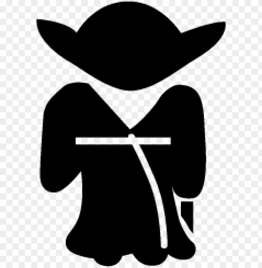 Download yoda silhouette clipart png photo.