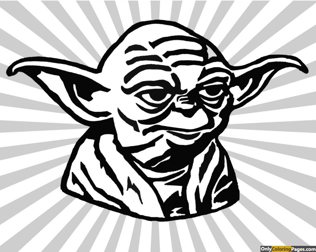 yoda face coloring pages 01.
