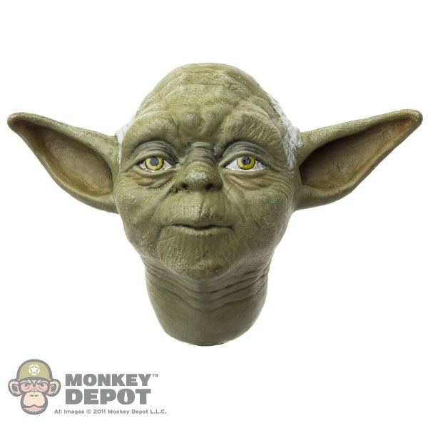 Download Free png Head: Sideshow Yoda.