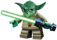 Yoda Lego Star Wars Characters PNG Clipart #46634.