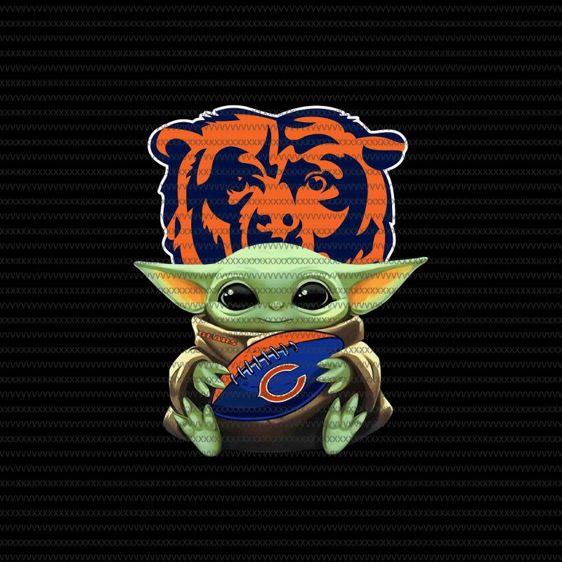 Baby yoda chicago bears png, chicago bears logo, chicago bears vector, Baby  Yoda, The Mandalorian The Child Christmas png , Baby Yoda Png, star wars.